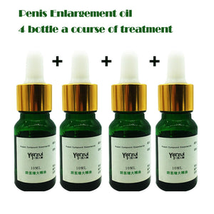 4pcs Fast Growth Herbal Developpe Penis Enlargement Oil