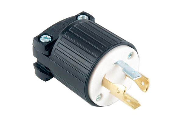 Enchufe de seguridad de 20A/125-250V (4 cables)