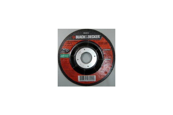"Disco Black & Decker de 4-1/2"" x 1/8"" x 7/8"" para Concreto"
