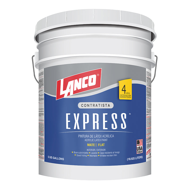 Pintura de látex Express Base Deep de 5 galones