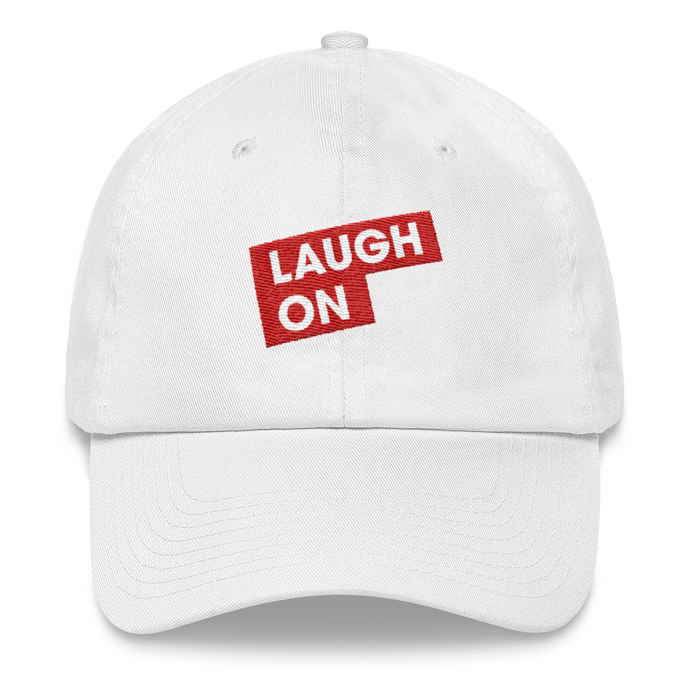 Laugh On Baseball Cap