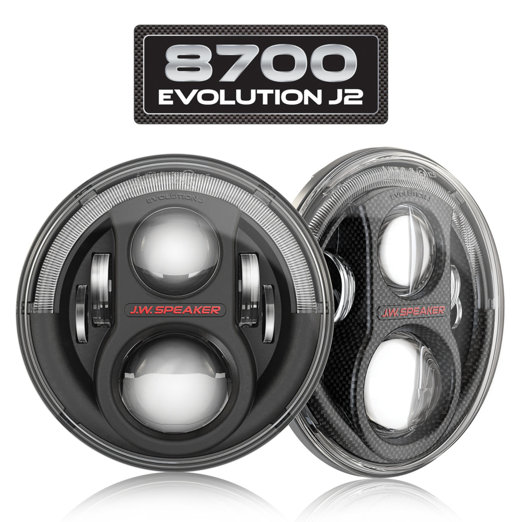 LED Headlights – Model 8700 Evolution J2 Series (Contact For Price)
