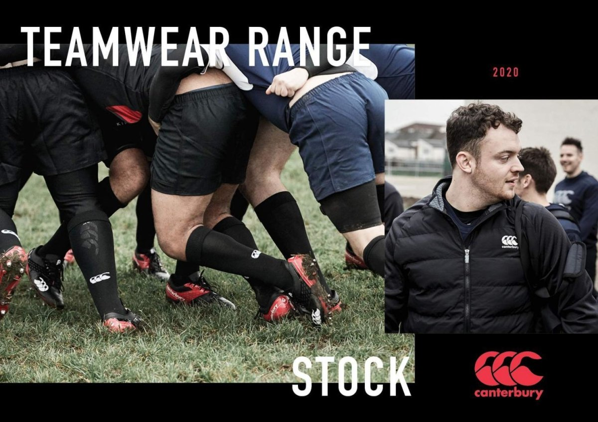 CANTERBURY LICENCED APPAREL | www.therugbyshop.com