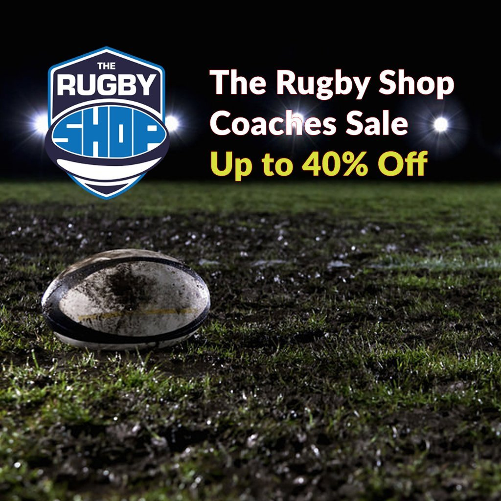 Coaches Sale | www.therugbyshop.com