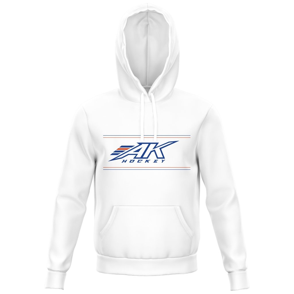 AK HOCKEY KAMLOOPS 2021 ALT LOGO HOODIE - ADULT UNISEX/YOUTH - www.therugbyshop.com
