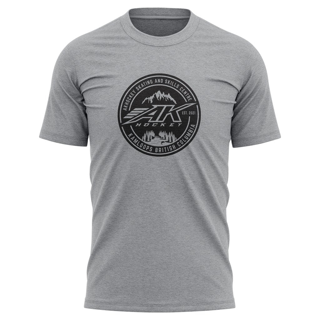 AK HOCKEY KAMLOOPS 2021 LOGO V15 TEE - MEN'S/WOMEN'S/YOUTH - www.therugbyshop.com