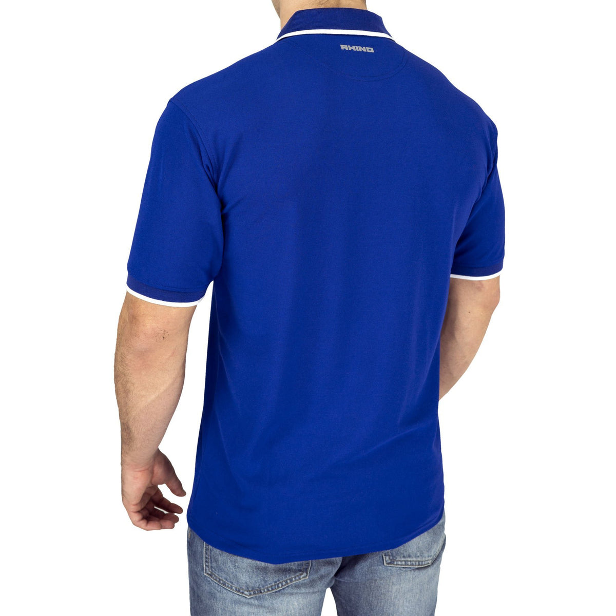 Alpha Rhino Poly Performance Pique Polo - www.therugbyshop.com