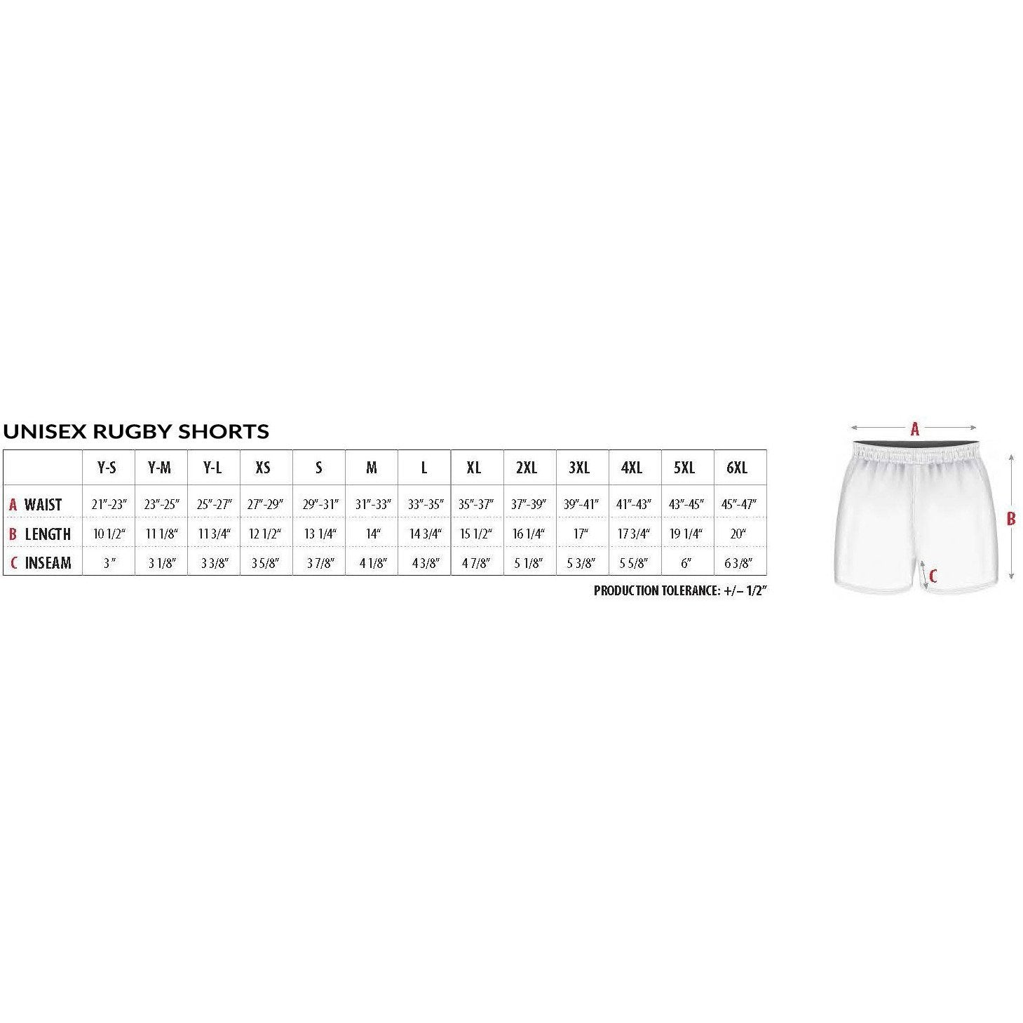 BCRRS Pro Pocketed Ref Shorts - www.therugbyshop.com
