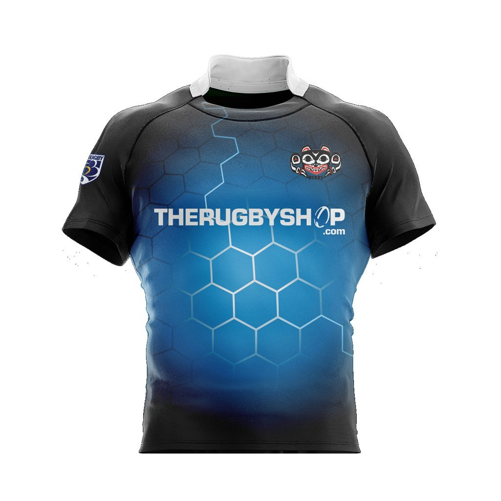 BCRRS Unisex Ref Jersey - Electric Blue - www.therugbyshop.com
