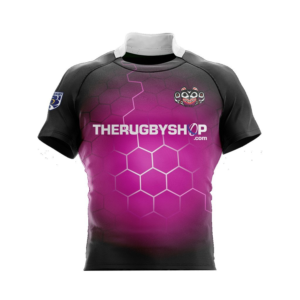 BCRRS Unisex Ref Jersey- Electric Pink - www.therugbyshop.com