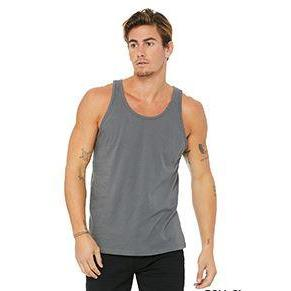 Bella + Canvas Unisex Jersey Tank - www.therugbyshop.com