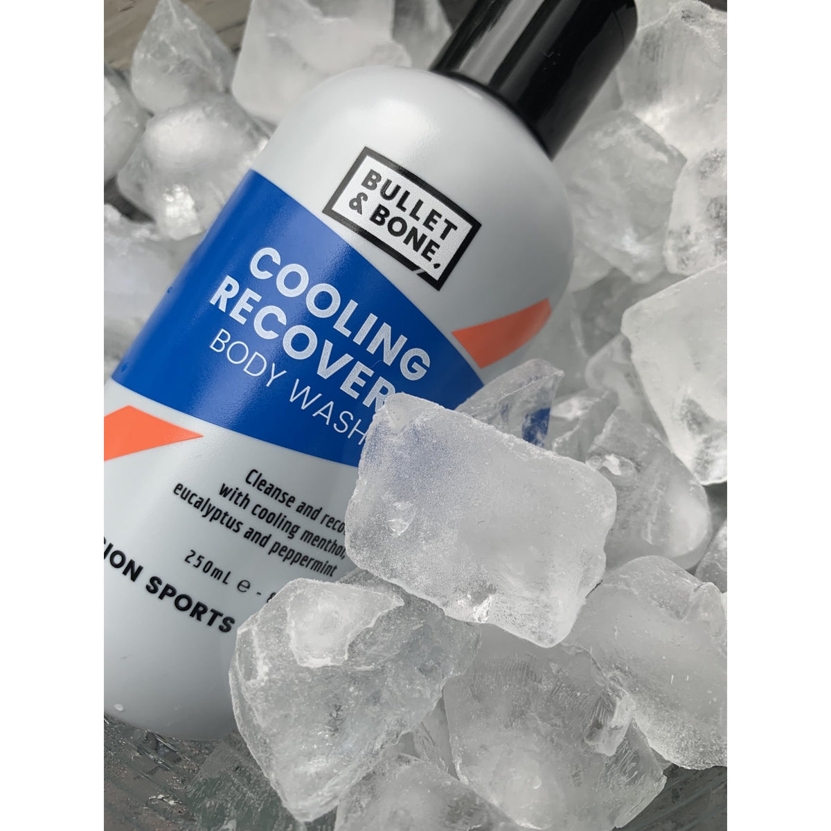 Bullet & Bone Cooling Recovery Body Wash - www.therugbyshop.com