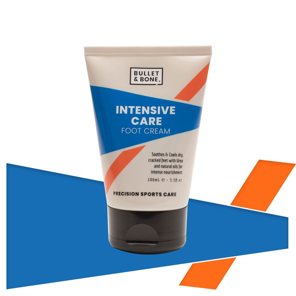 Bullet & Bone Intensive Care Foot Cream - www.therugbyshop.com