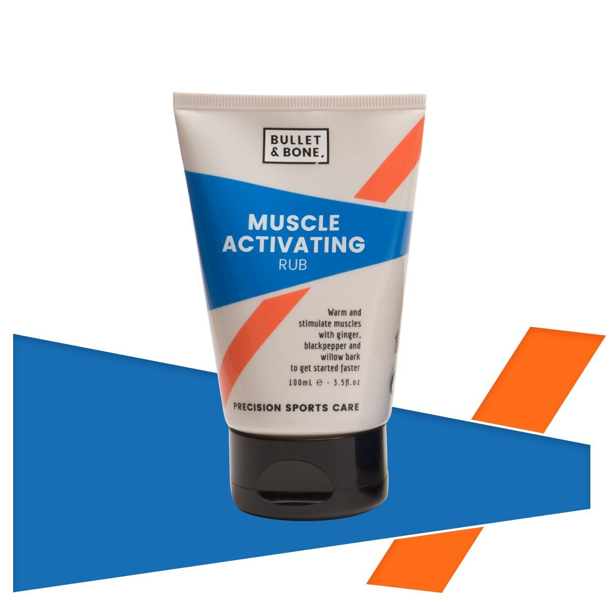 Bullet & Bone Muscle Activating Rub - www.therugbyshop.com