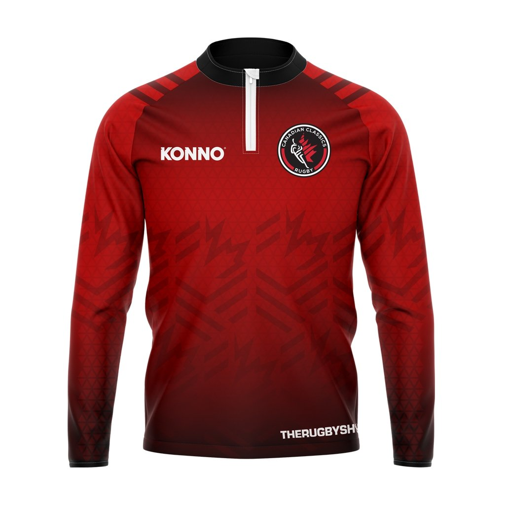 Canadian Classics 1/4 Zip Training Top - www.therugbyshop.com