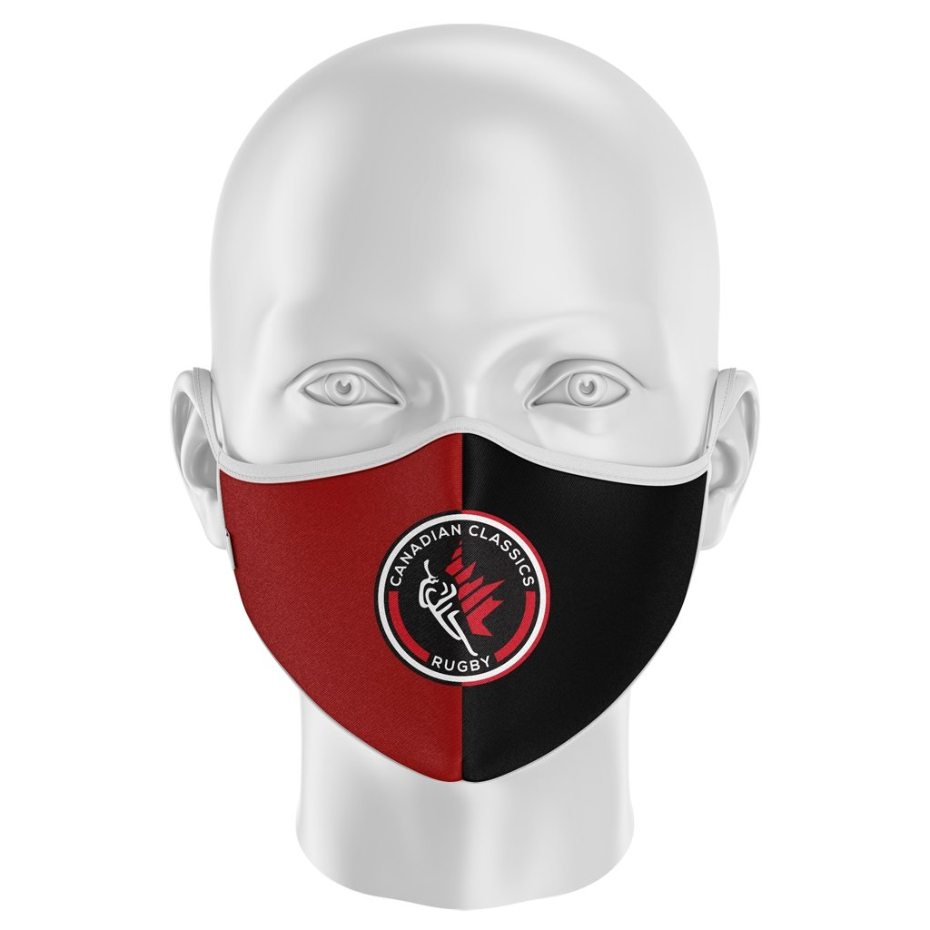 Canadian Classics Cloth Face Mask - www.therugbyshop.com