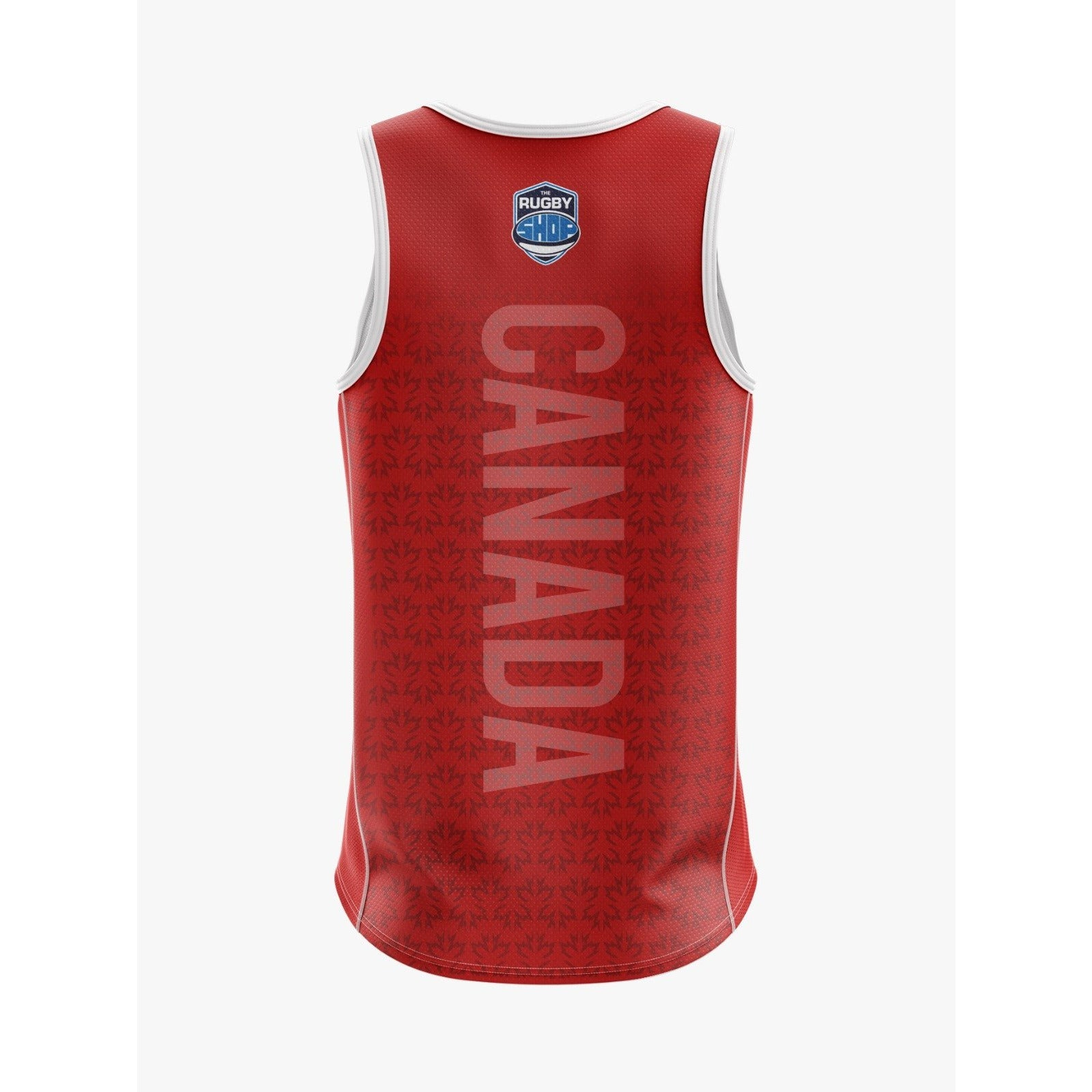 Canadian Classics Sublimated Training Singlet - www.therugbyshop.com