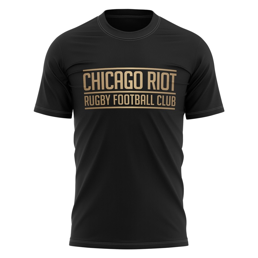 Chicago Riot Graphic Tee - Black - www.therugbyshop.com