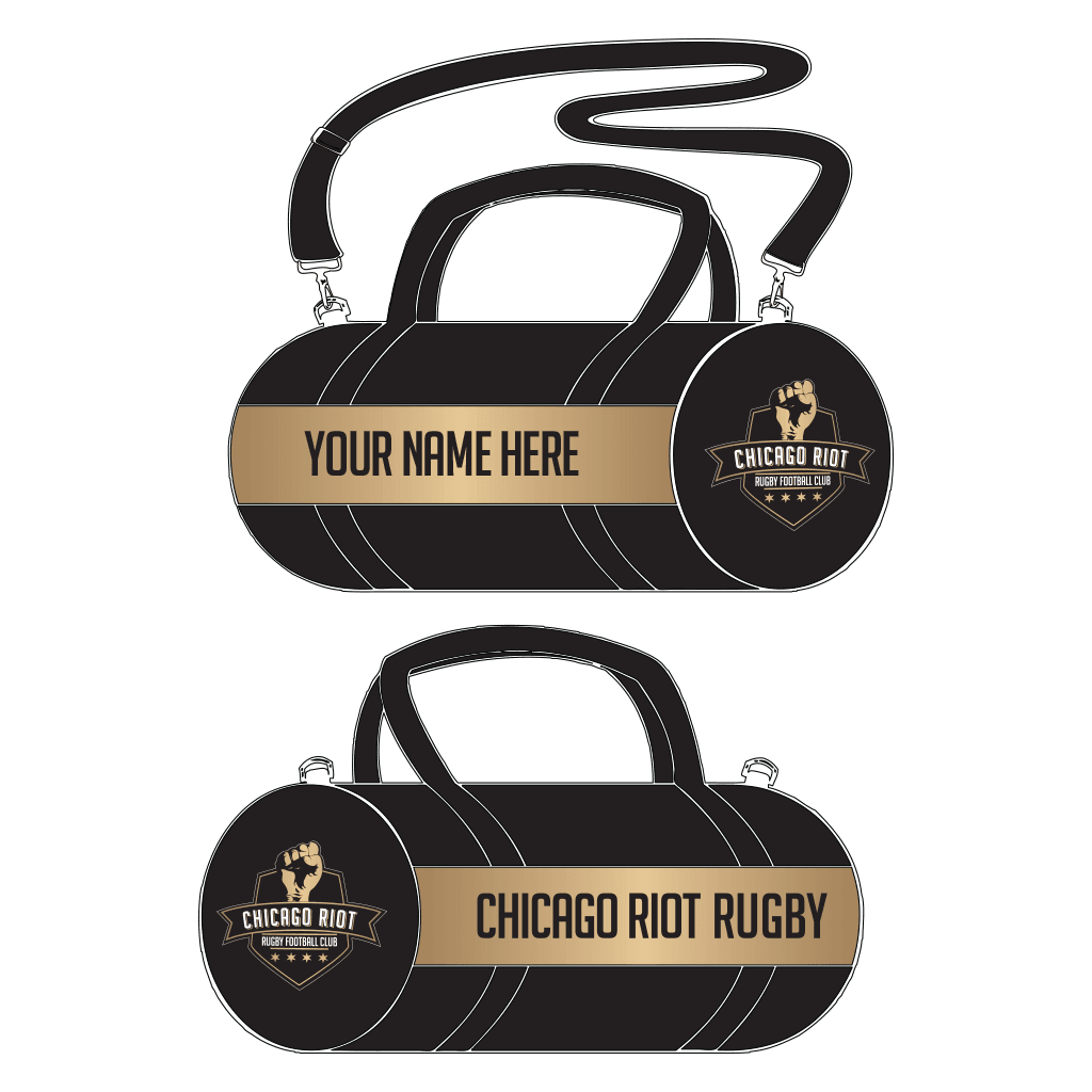Chicago Riot Personalized Canvas Kit Bag - www.therugbyshop.com