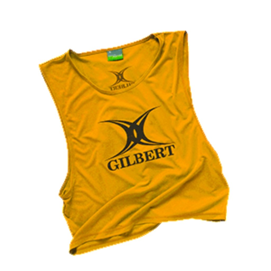 Gilbert Bib Polyester (Multiple Colors) - www.therugbyshop.com