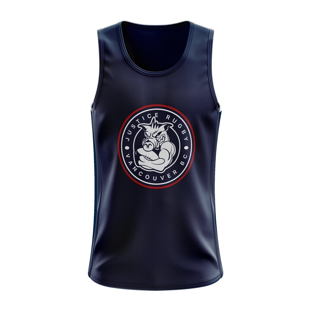 Justice Rugby Logo Singlet - www.therugbyshop.com
