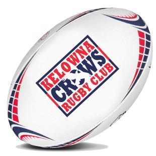 Kelowna Crows Training Rugby Ball - www.therugbyshop.com