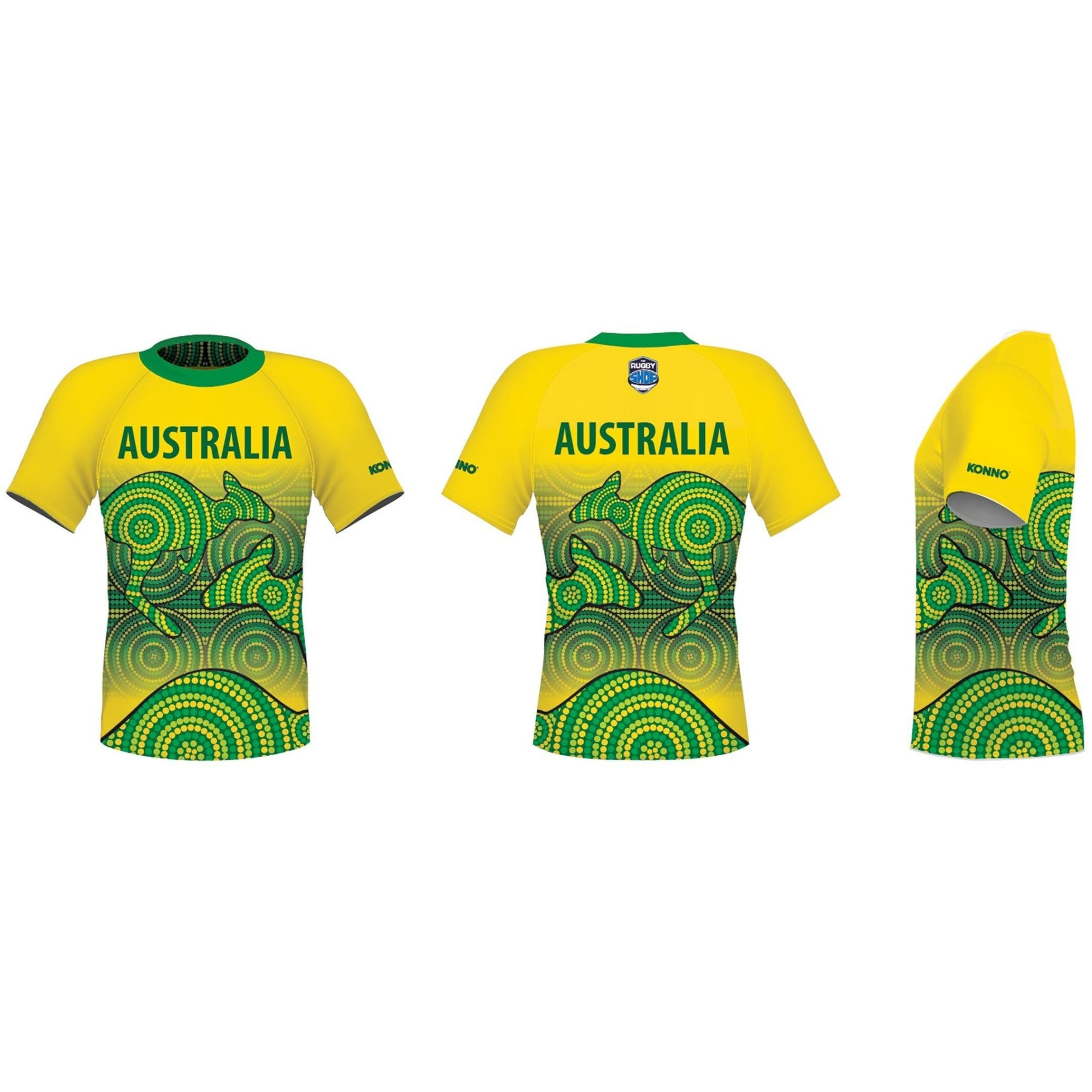 Konno International Supporter Tee - Australia - www.therugbyshop.com
