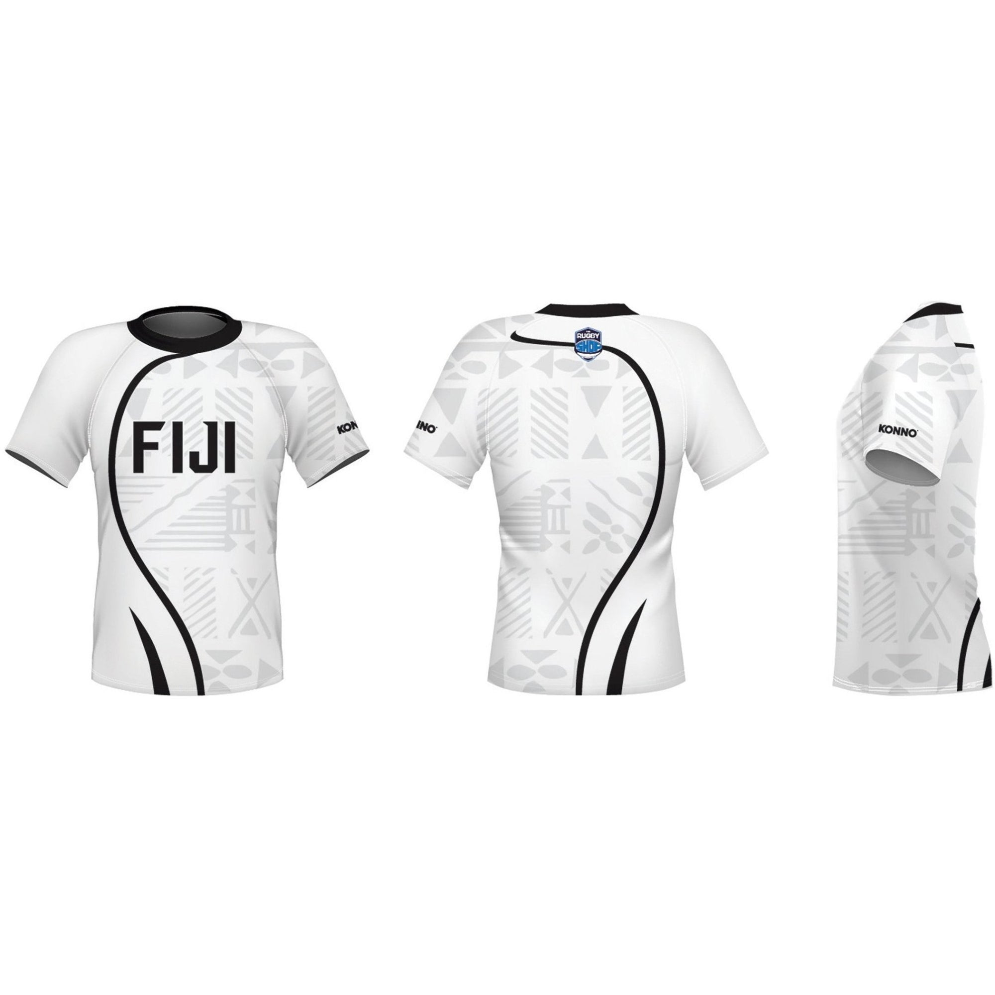 Konno International Supporter Tee - Fiji - www.therugbyshop.com