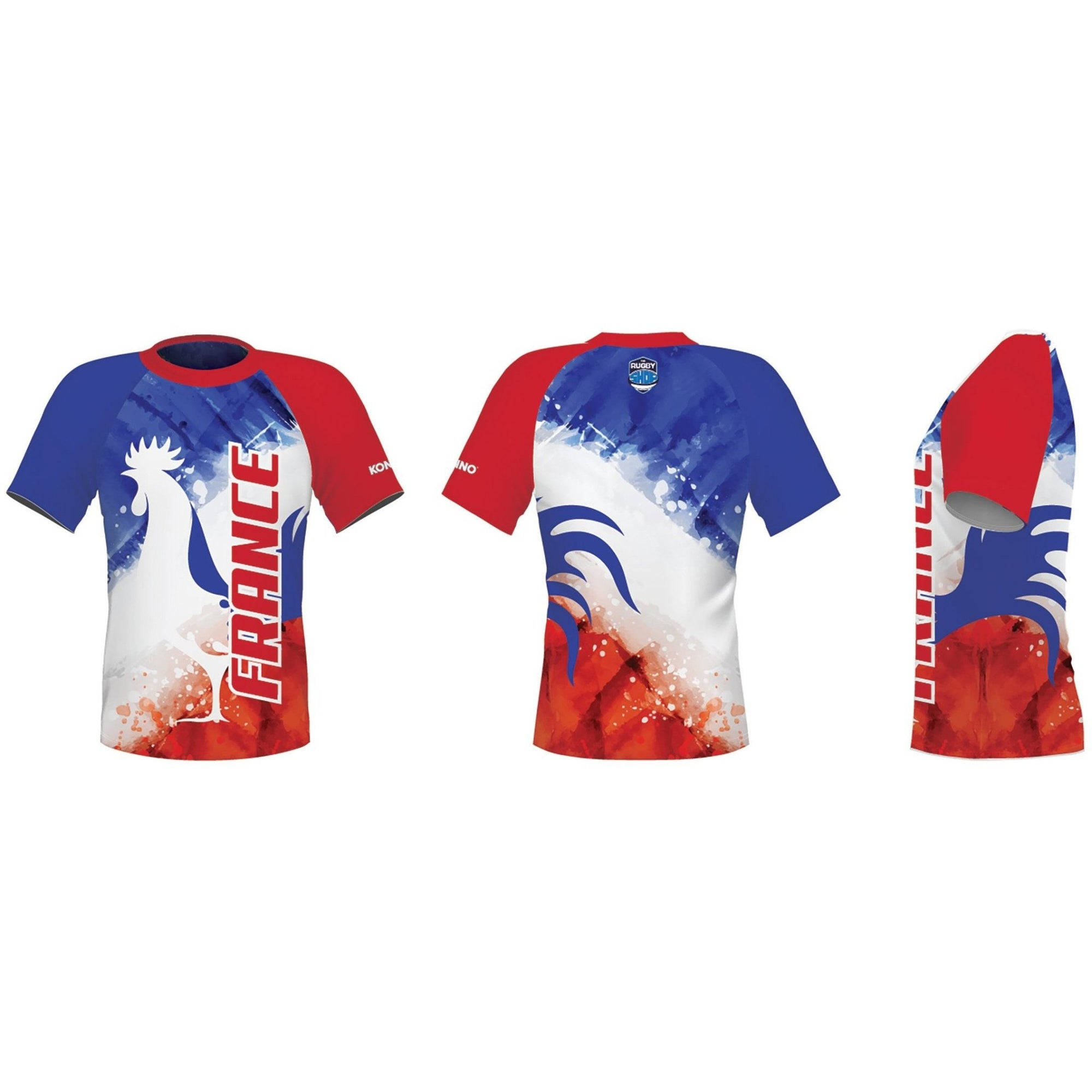 Konno International Supporter Tee - France - www.therugbyshop.com