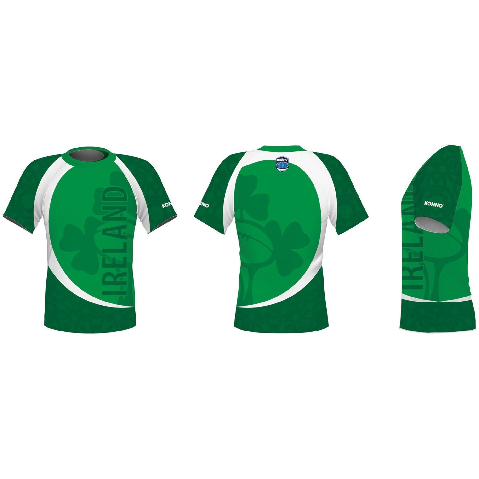 KONNO International Supporter Tee - Ireland - www.therugbyshop.com www.therugbyshop.com KONNO TEE KONNO International Supporter Tee - Ireland