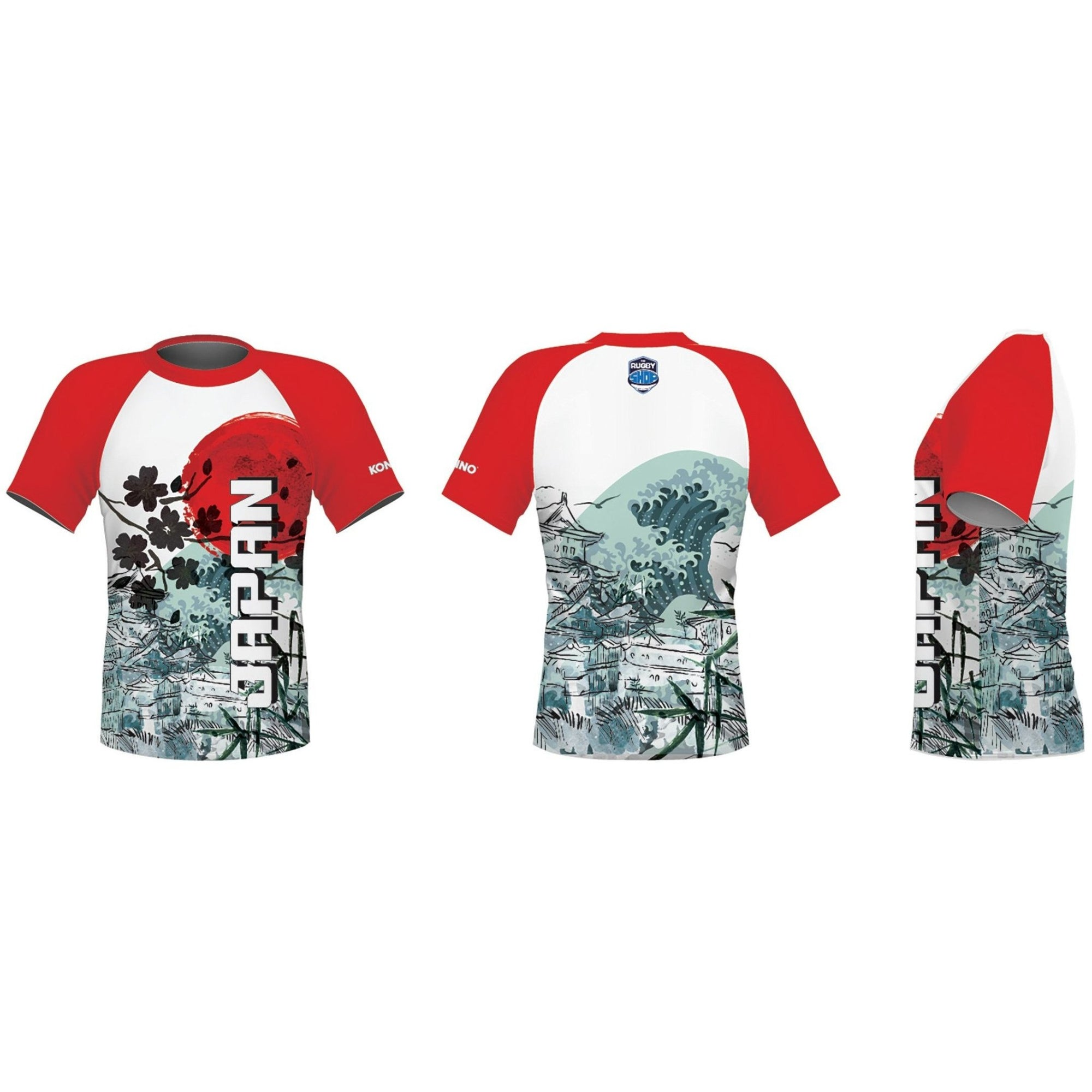 Konno International Supporter Tee - Japan - www.therugbyshop.com