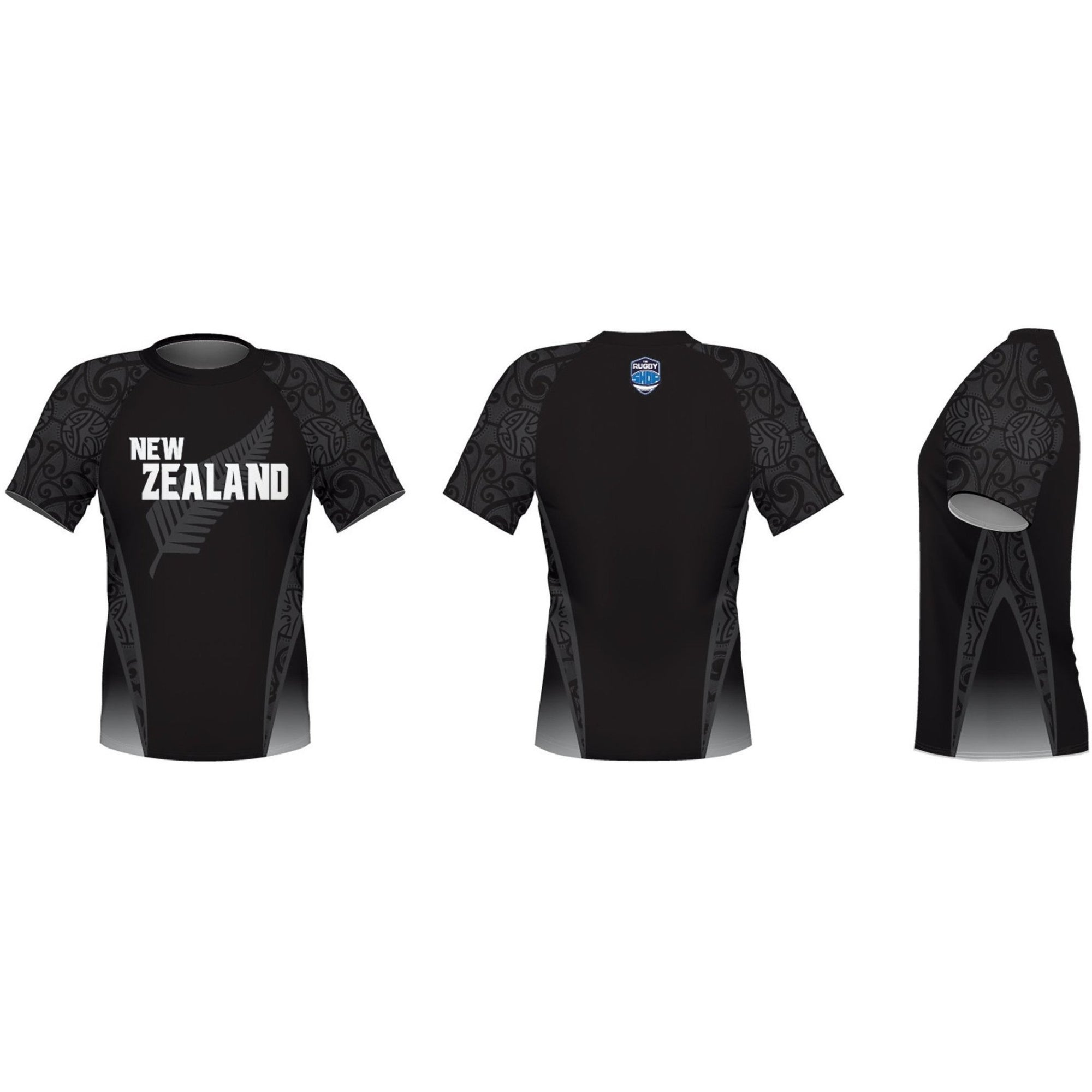 Konno International Supporter Tee - New Zealand - www.therugbyshop.com
