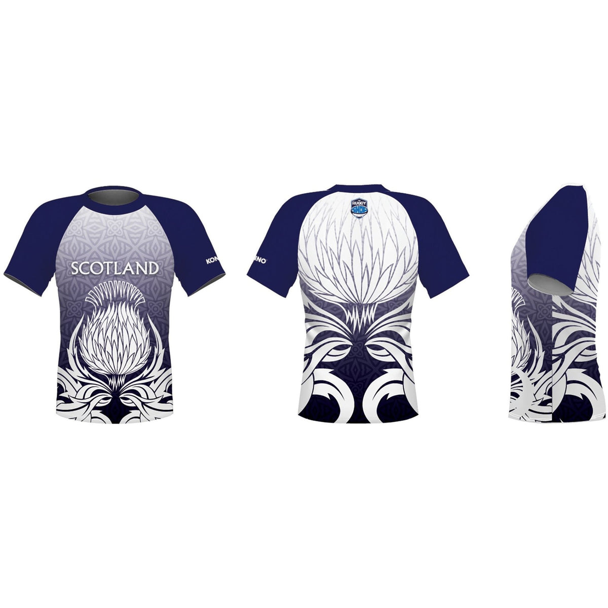 Konno International Supporter Tee - Scotland - www.therugbyshop.com