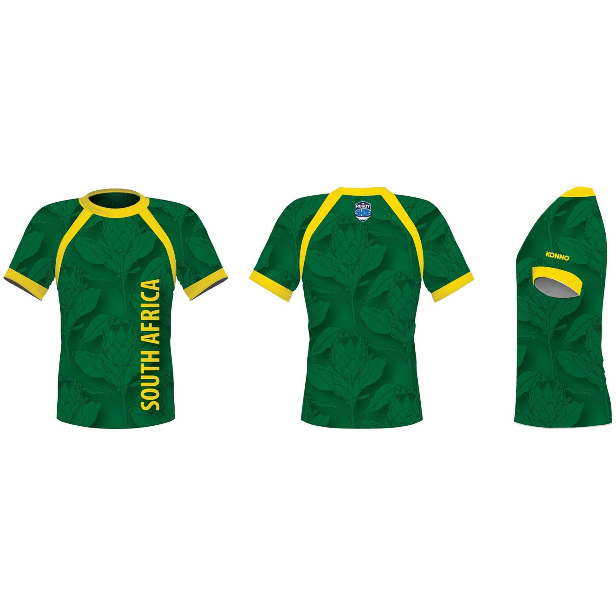 KONNO International Supporter Tee - South Africa - www.therugbyshop.com www.therugbyshop.com KONNO TEE KONNO International Supporter Tee - South Africa