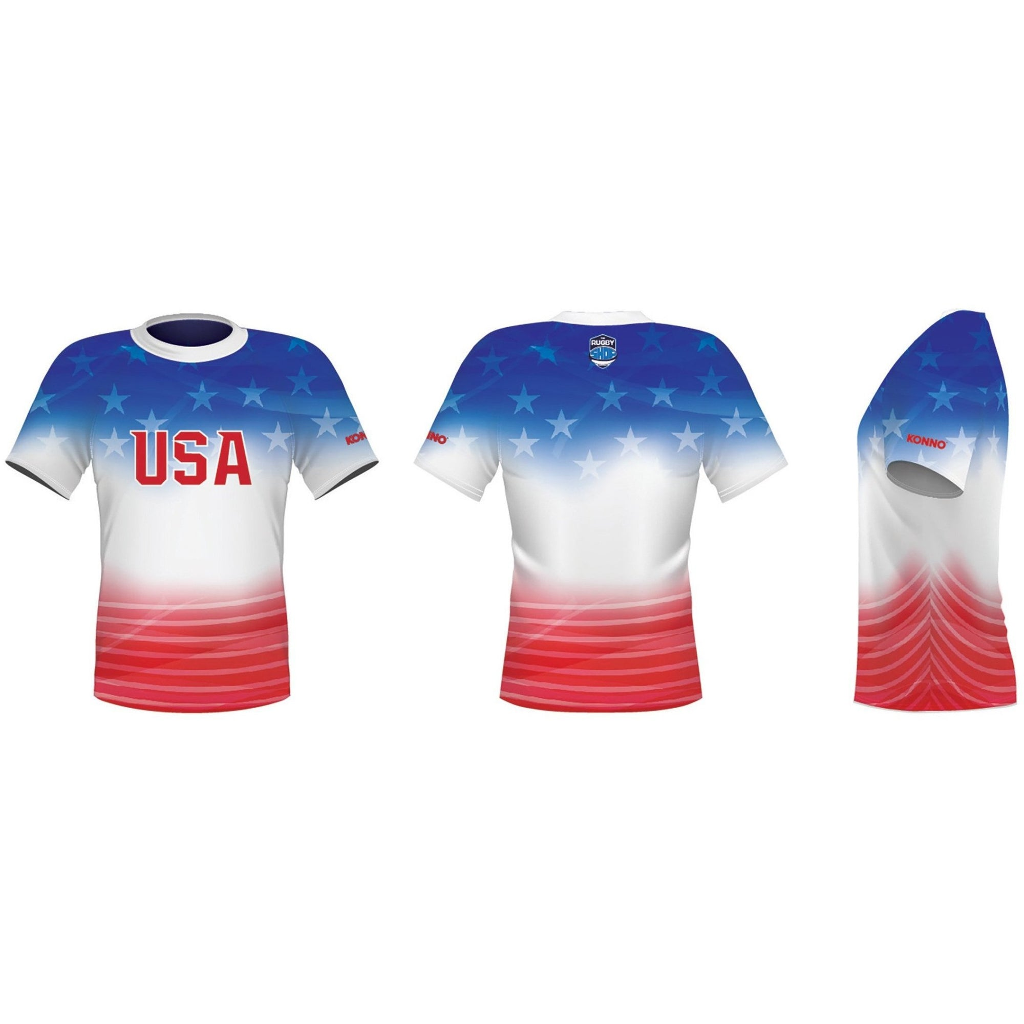 Konno International Supporter Tee - Usa - www.therugbyshop.com