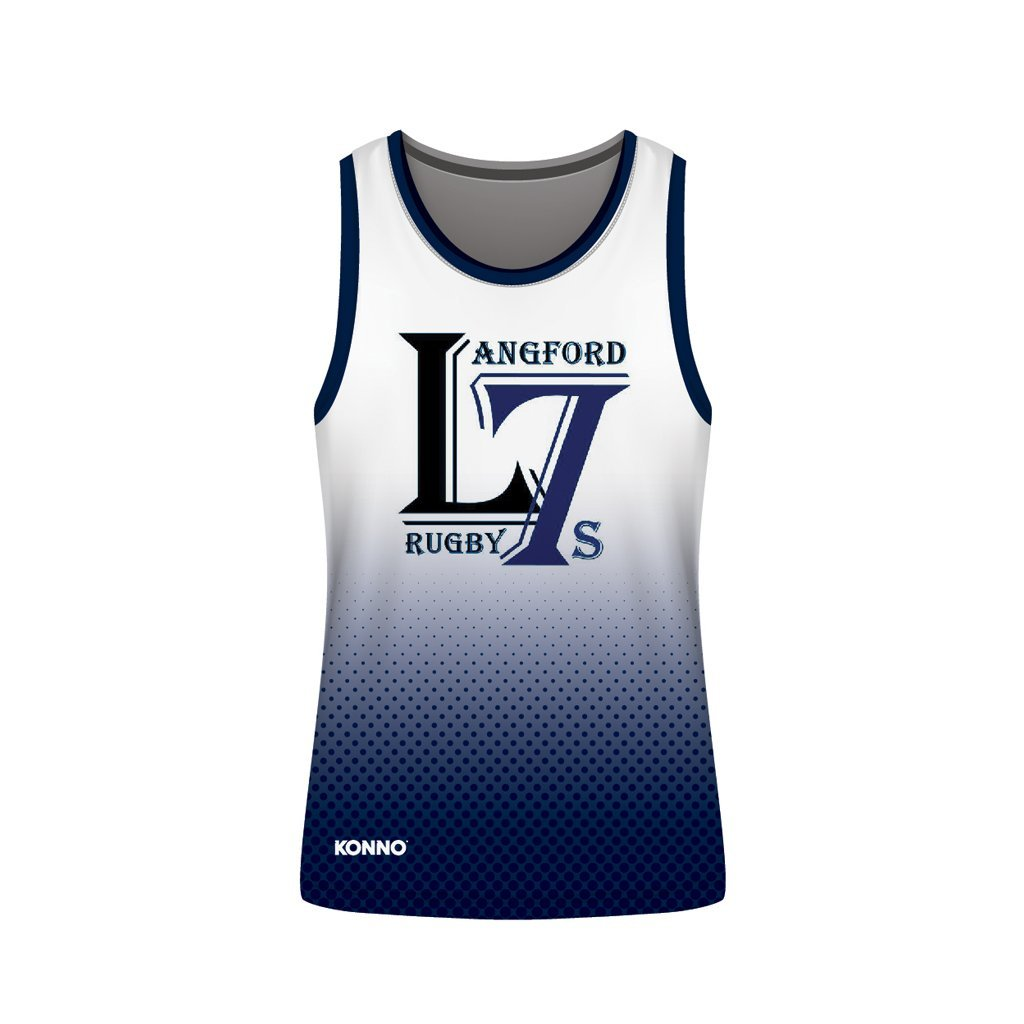 Langford 7S Sublimated Singlet - www.therugbyshop.com