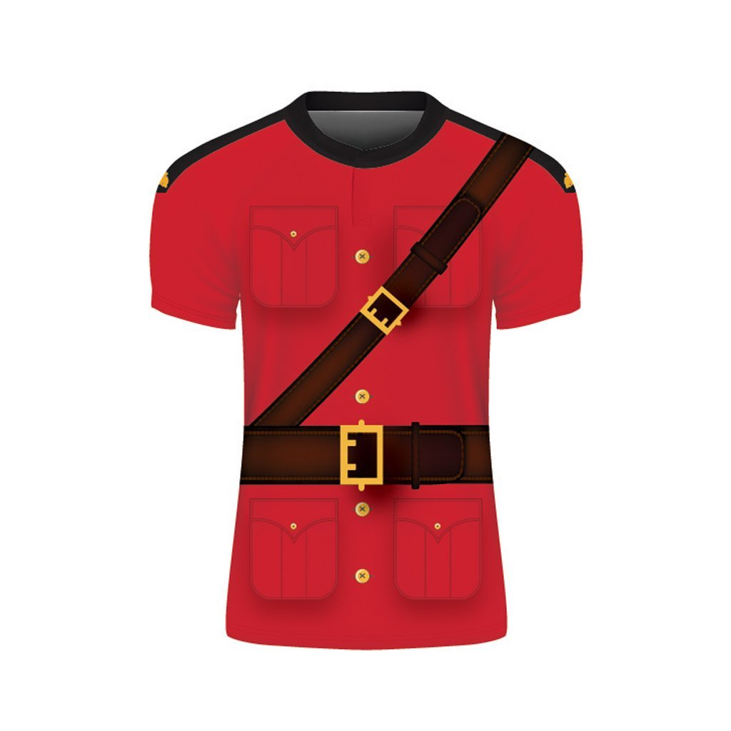 Mountie Themed Rugby Jersey - www.therugbyshop.com