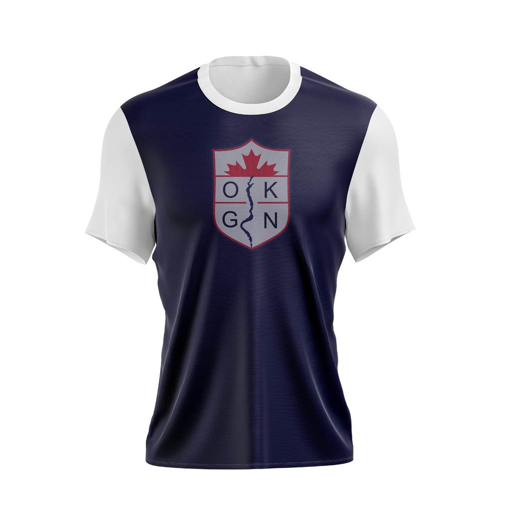 Okanagan Rugby Club Training Tee - www.therugbyshop.com