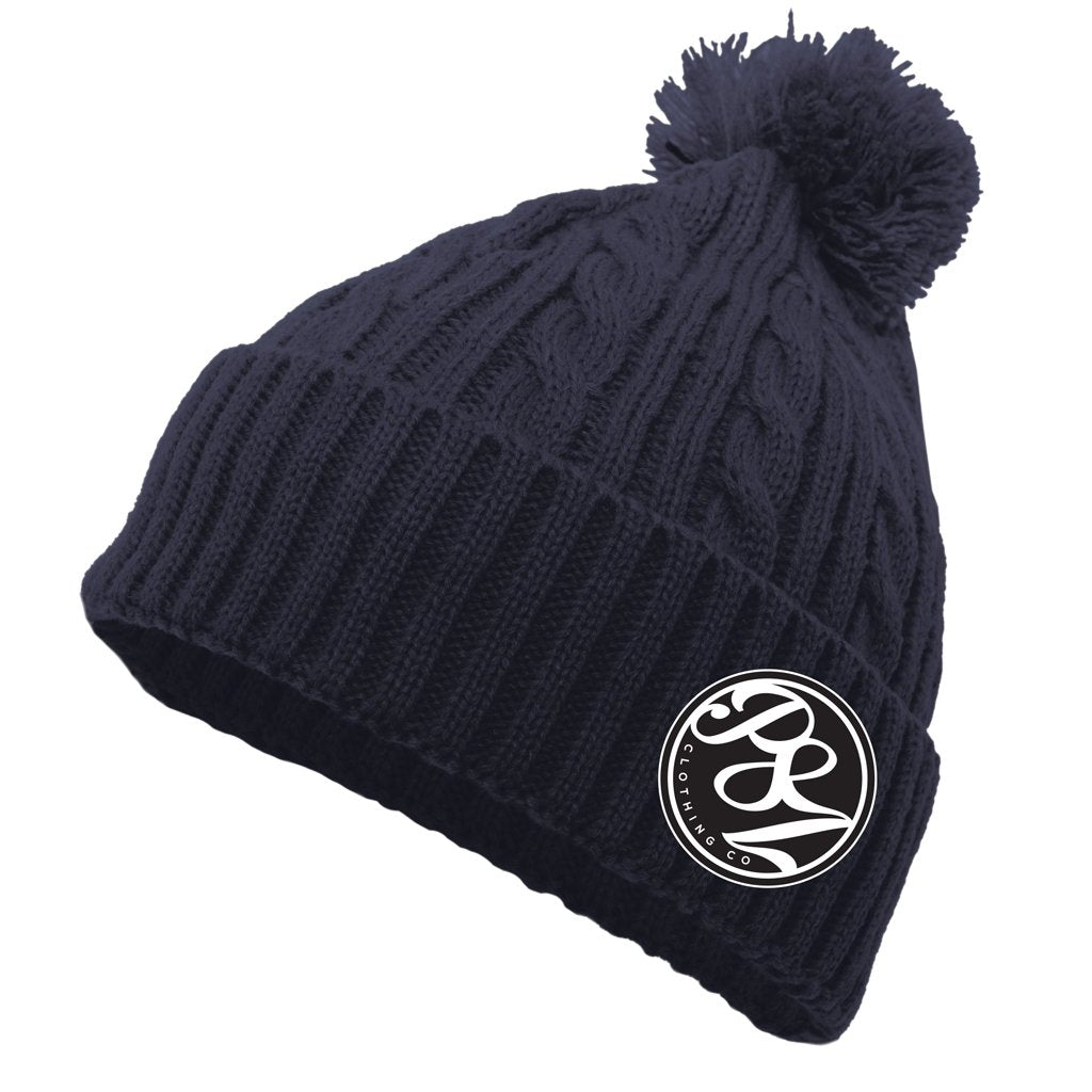 "P8Z CLOTHING CO. - ""VIVIAN"" POM-POM BEANIE - www.therugbyshop.com"