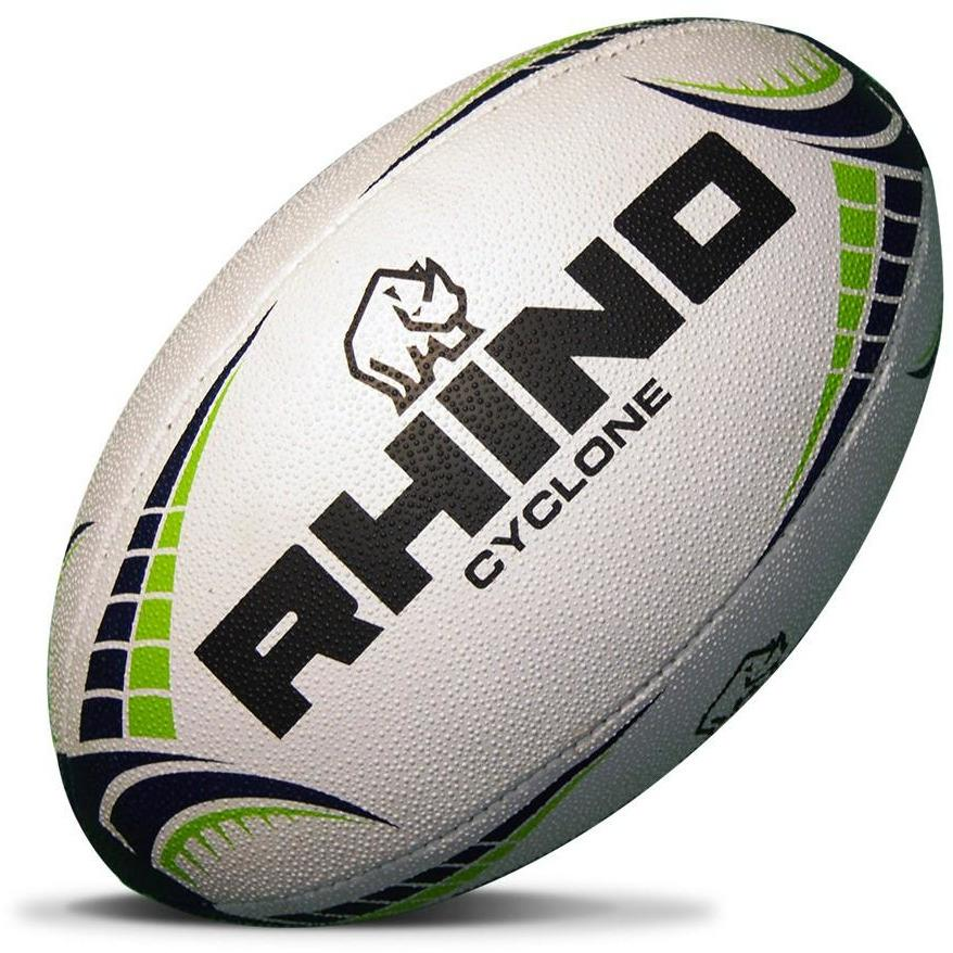 RHINO Cyclone Practice Rugby Ball - www.therugbyshop.com