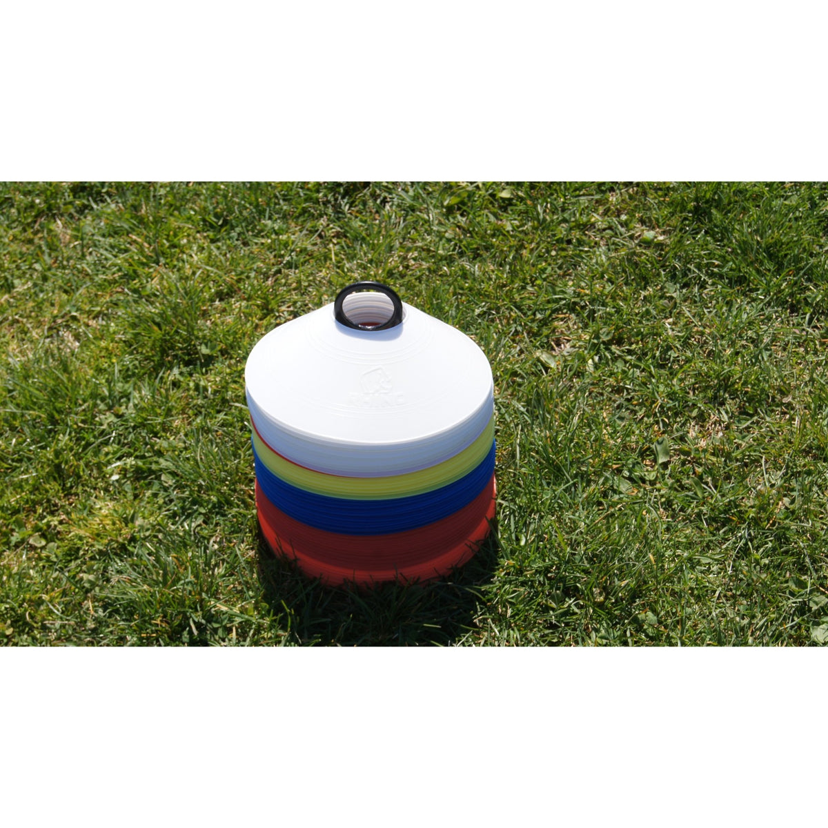 Rhino Grid Marker 50 Discs & Carrier - www.therugbyshop.com
