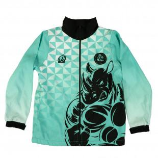 Rhino MTO Youth Set In Sleeve Track Jacket - www.therugbyshop.com