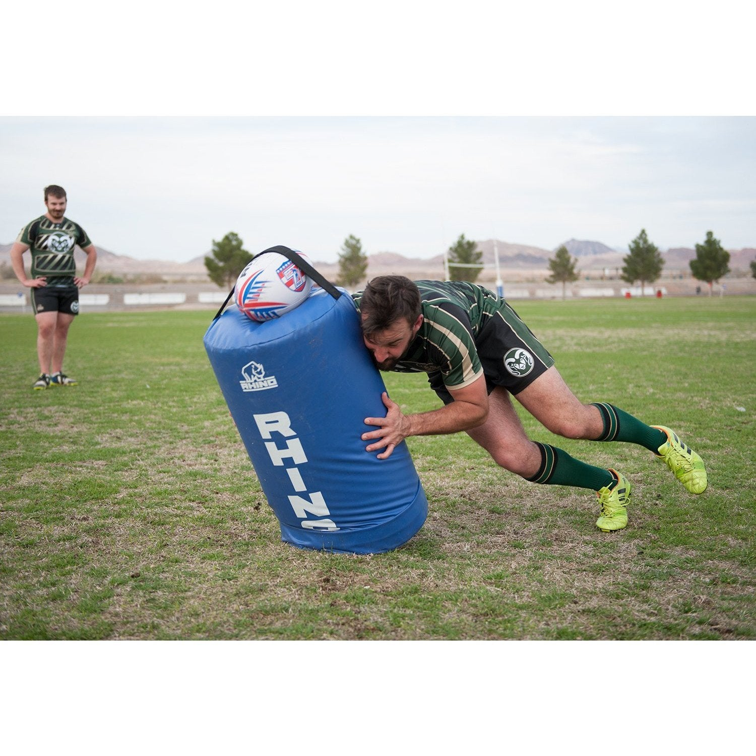 Rhino Rugby Low Tackle Bag - www.therugbyshop.com