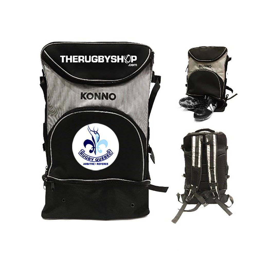 Rugby Quebec Referees Custom Ref Backpack - www.therugbyshop.com