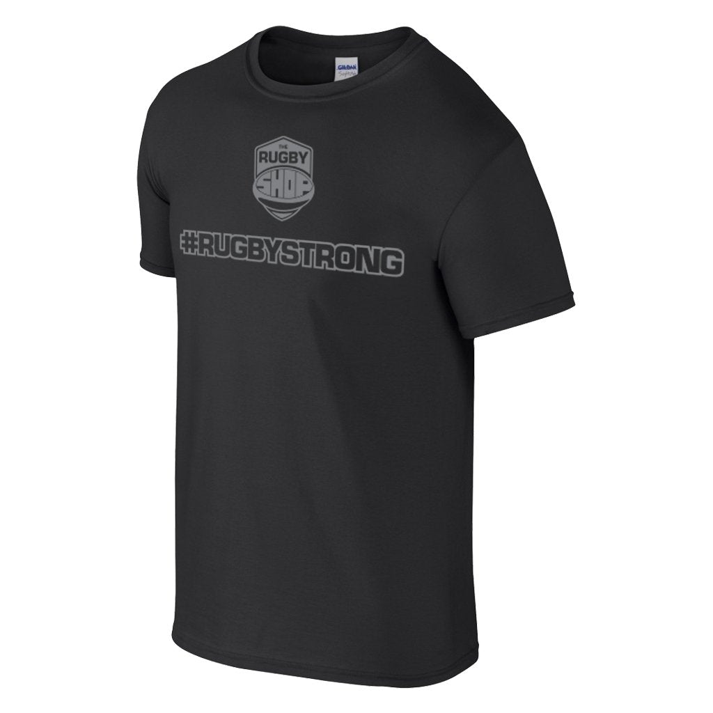 #Rugbystrong Printed Tee - Mens/Womens - www.therugbyshop.com