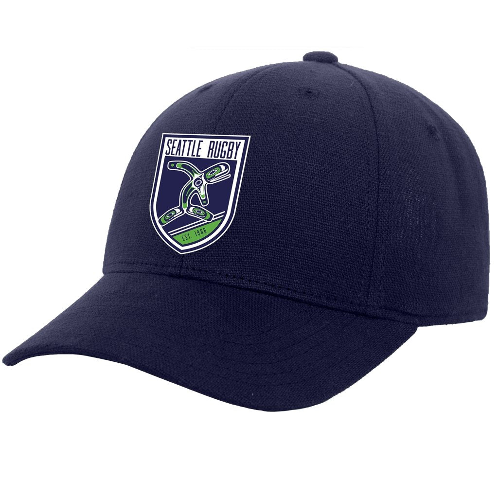 Seattle Rugby Club Hemp Dad Hat - www.therugbyshop.com