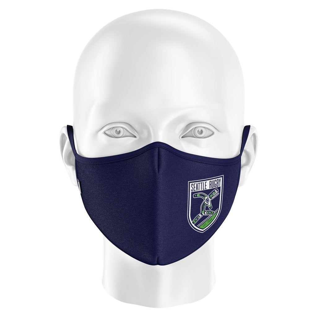 Seattle Rugby Club Mask - www.therugbyshop.com
