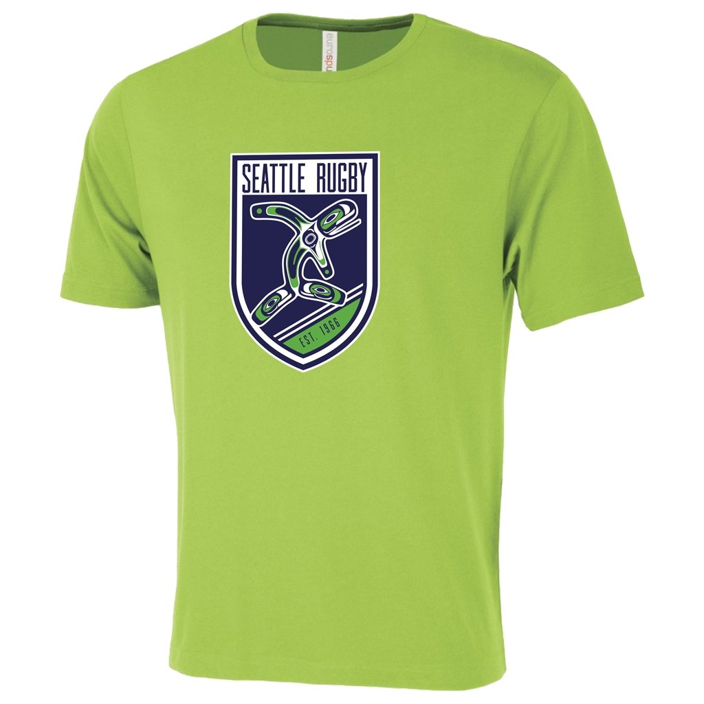 Seattle Rugby Club Tee Men's / Women's / Youth Green - www.therugbyshop.com
