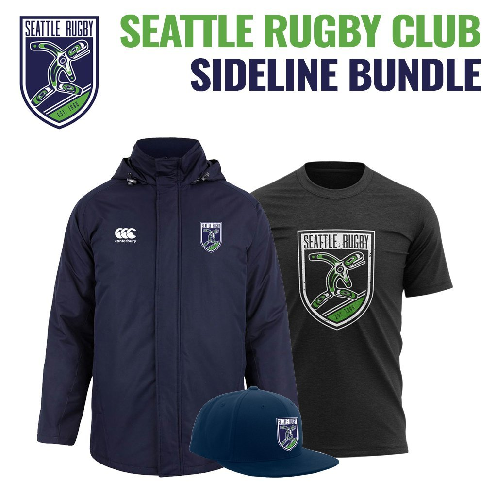 SEATTLE RUGBY SIDELINE BUNDLE - www.therugbyshop.com