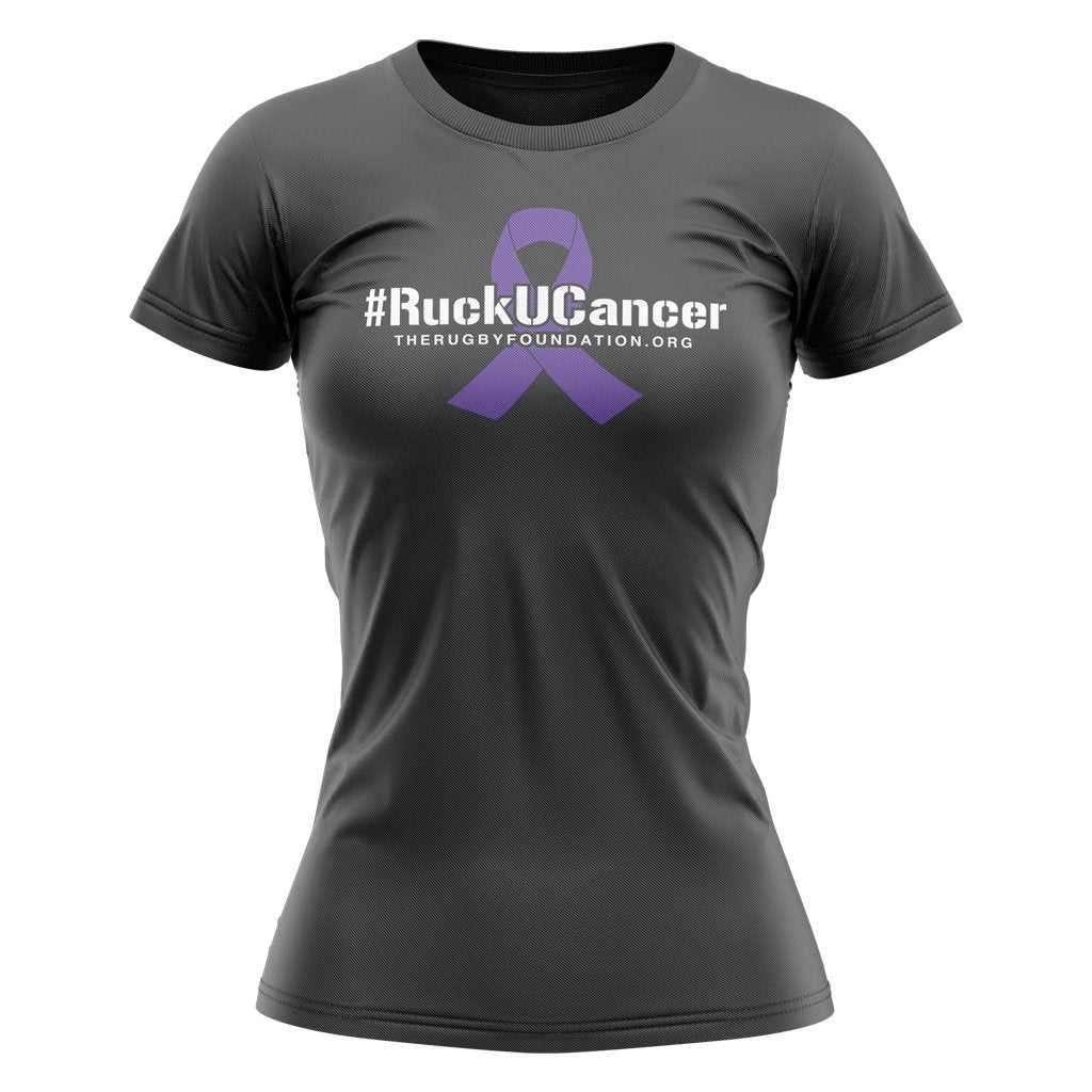 The Rugby Foundation #ruckucancer Grey Graphic Tee 1 - Men's/Women's - www.therugbyshop.com